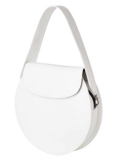 Lunar Max Handbag White