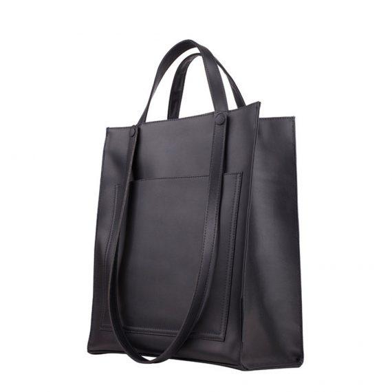 Black Tote Handmade Bag