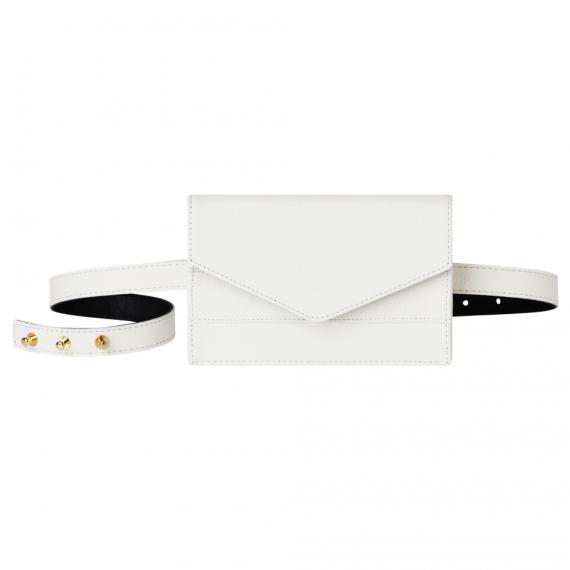 White Belt Bag Handmade