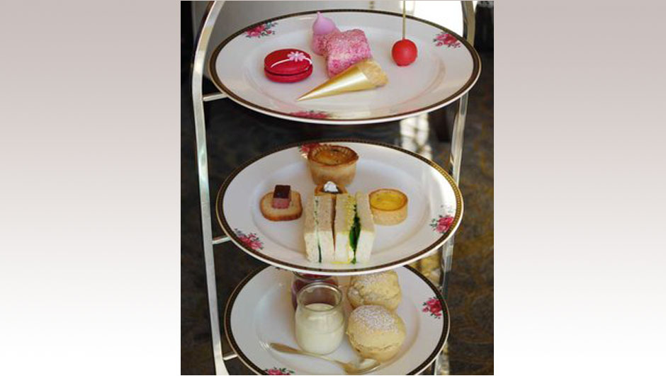 The Langham Sydney & Wedgwood tea