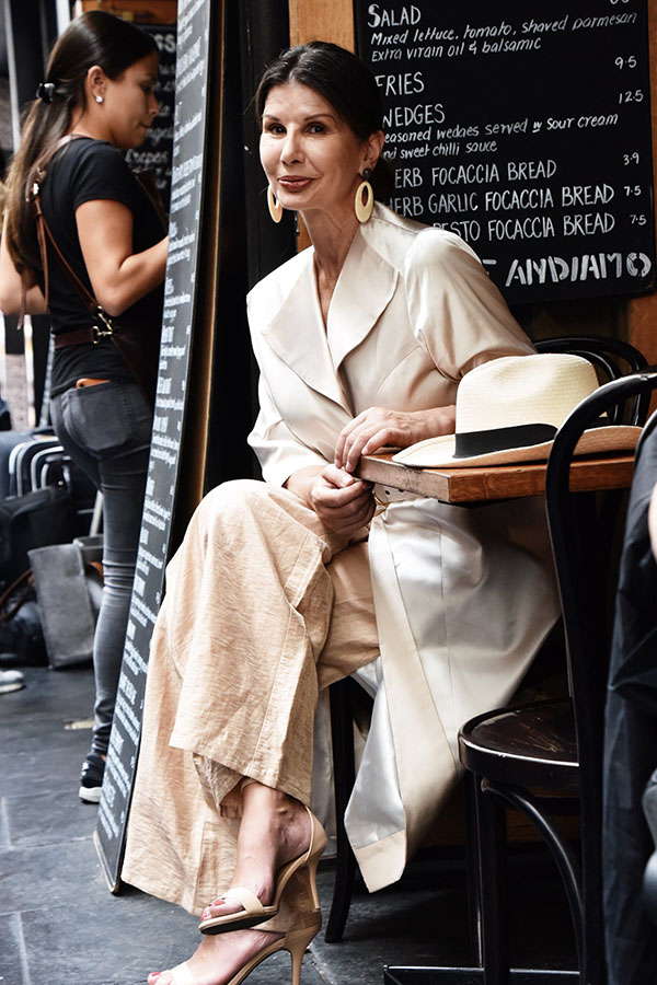 Being Stylish and Confident at Any Age, Secrets From Stylist and Model Violet Trikilis