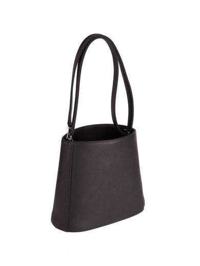 Black Bucket Bag Handmade