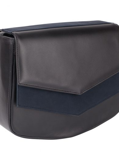 Black Navy Shoulder Bag