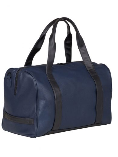 Navy Black Gentleman's Duffle