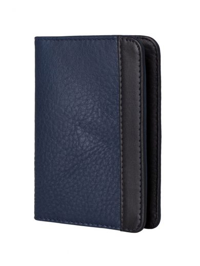 Black Navy Passport Holder