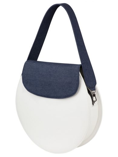 White Lunar Handmade Bag