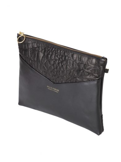 Black Clutch Handmade Bag