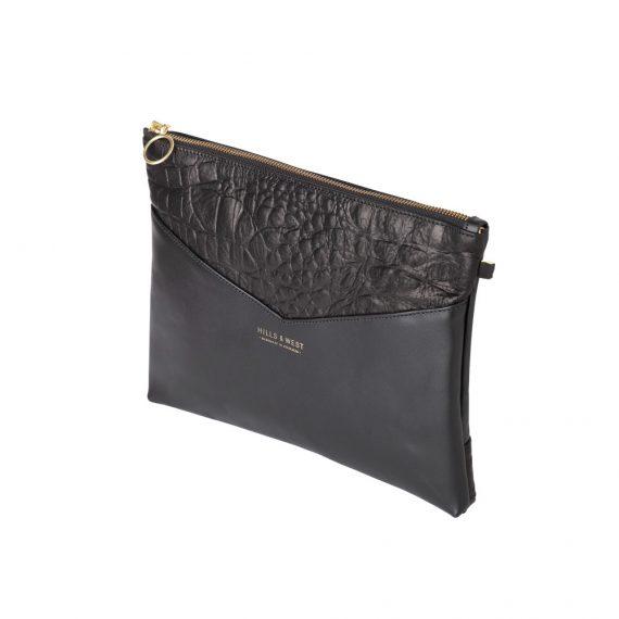 Black Clutch Handmade Bag
