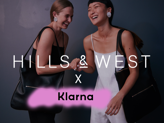 Klarna Store Welcomes H&W | H&W Welcomes Klarna Payments