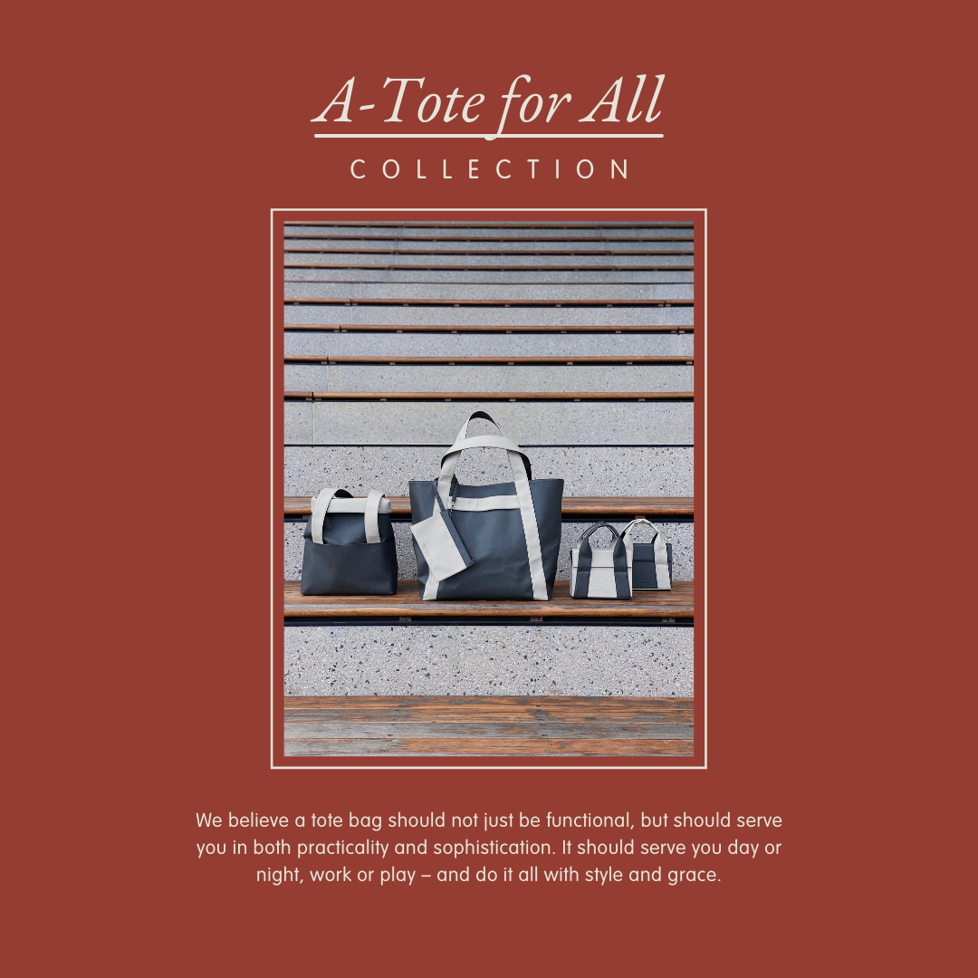 A-Tote For All – The New Apple-Leather Collection For Everyone, Everywhere for Every Wear